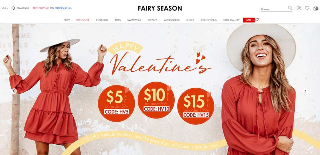 Интернет-магазин FairySeason